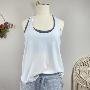 Athleta 2-in-1 Ultimate Support Top size Small